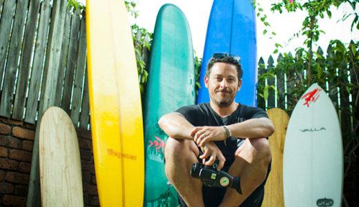 鎌倉パタゴニアにてサーフムービーメイカー Nathan Oldfieldのスライド&トークイベント開催