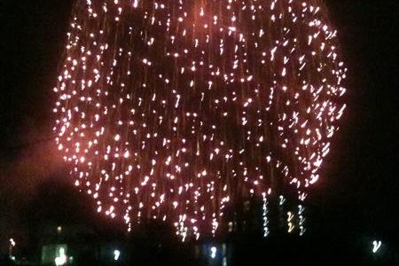 2012年江ノ島花火大会と「2011年みんなでつくる花火大会」