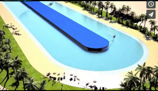 Wavegardenと同じくらい凄いプール「THE WEBBER WAVE POOL」
